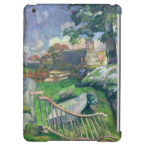The Wooden Gate or, The Pig Keeper, 1889 iPad Air Case