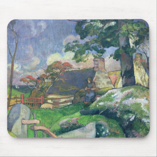 The Wooden Gate or, The Pig Keeper, 1889 Mouse Pad