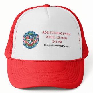 The Woodlands Tea Party hat hat