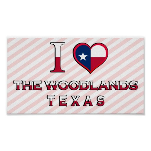 The Woodlands, Texas Posters