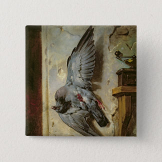 The Woodpigeon, c.1857 Pinback Button