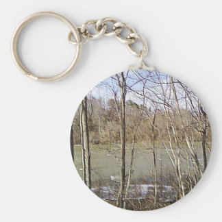 The Woods 2 Keychain