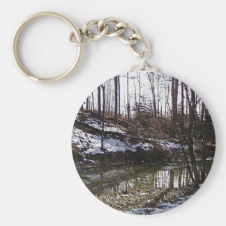 The Woods 3 Keychain