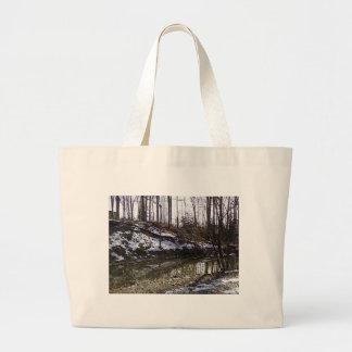 The Woods 3 Tote Jumbo Tote Bag