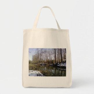 The Woods 3 Totebag Tote Bag