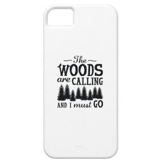 The Woods Are Calling iPhone SE/5/5s Case