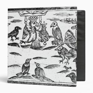 The Woody Choristers or The Birds Harmony Vinyl Binders