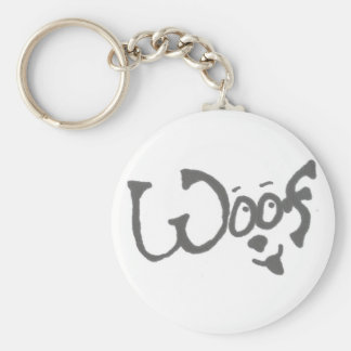 "The ""Woof"" Dog Lover's Key Chain"