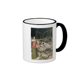 The Wooing of Grimhilde, the mother of Hagen Ringer Mug