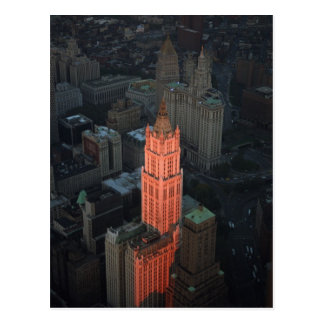The Woolworth Building Post Card
