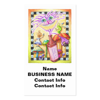 The WorCHESHIRE CAT Double-Sided Standard Business Cards (Pack Of 100)