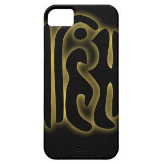 The word Ahimsa glowing in the dark iPhone SE/5/5s Case