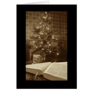 The Word at Christmas Card