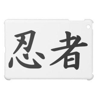 The Word Ninja in Sino-Japonese Kanji Script Cover For The iPad Mini