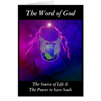The Word of God Greeting Cards