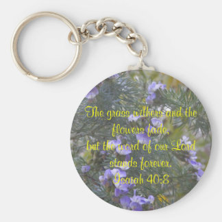 The Word stands forever Basic Round Button Keychain