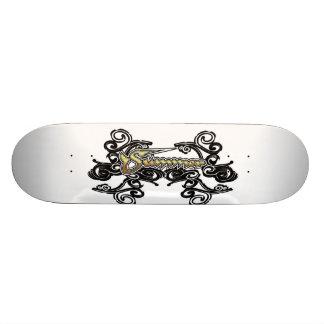 The word Summer Skateboard Deck