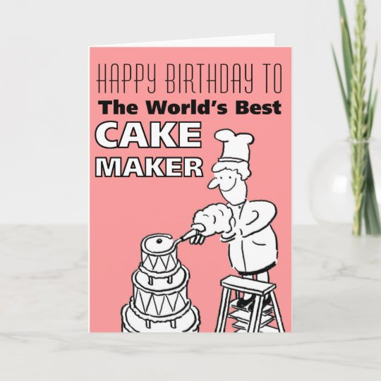 The Words Best Cake Maker