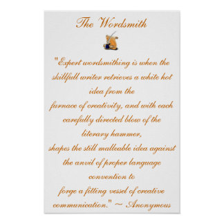 The Wordsmith Poster #2