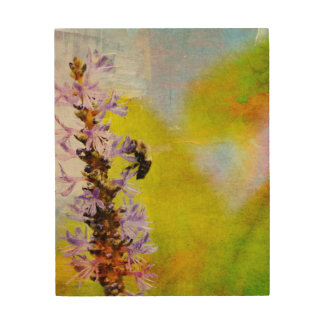 The Worker Bee Wood Wall Art