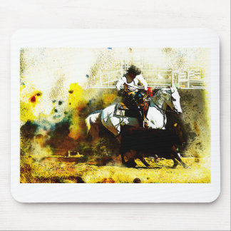 The Working Arabian Stockhorse Mouse Pad
