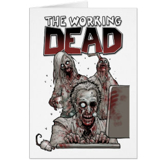 THE WORKING DEAD CARD