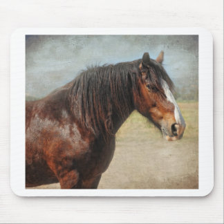 The working horse mouse pad
