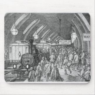 The workmen's train mouse pad