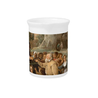 The Works of Mercy by David Teniers the Younger Drink Pitcher