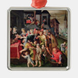 The Works of Mercy Christmas Ornaments