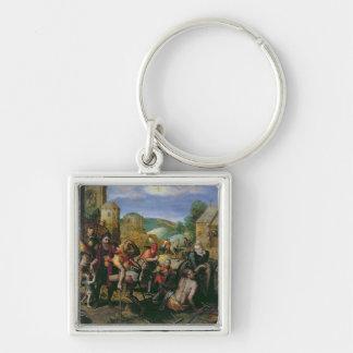 The Works of Mercy Keychain