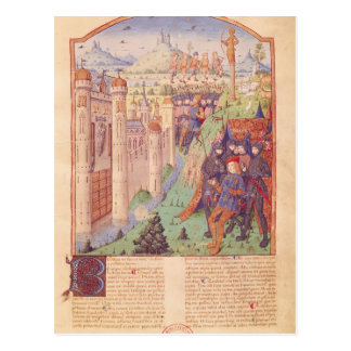The Works of Virgil with Commentary by Servius Postcard