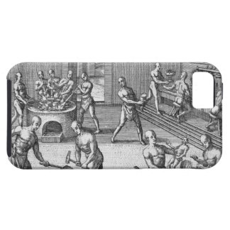 The workshop of Atahualpa s goldsmiths in Quito f iPhone 5 Cases