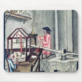 The Workshop of Silversmiths, from a silversmith b Mouse Pad