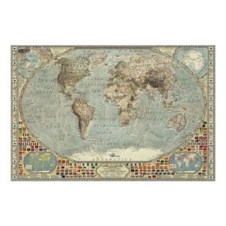 The World - 1875 Poster