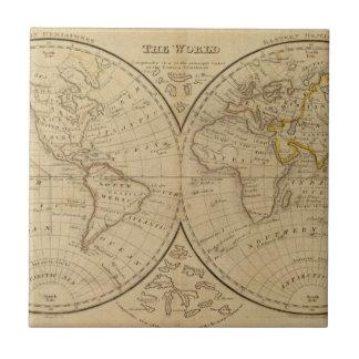The World 3 Ceramic Tile