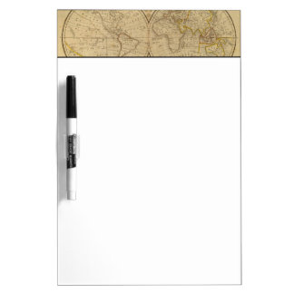 The World 3 Dry Erase White Board