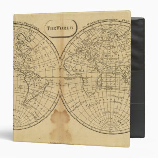 The World 3 Ring Binder