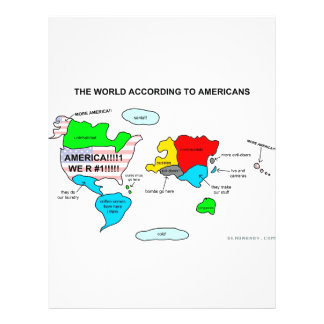 The World According to Americans Flyer