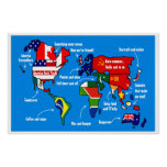 The world according to americans poster