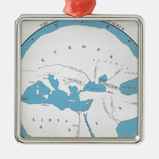 The world according to Hecataeus Metal Ornament