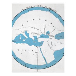 The world according to Hecataeus Postcard
