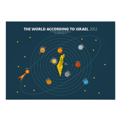 The World According to Israel Poster