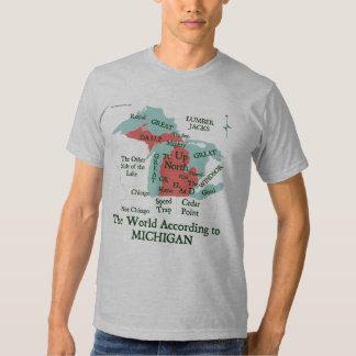 The World According to Michign T-Shirt