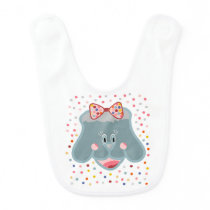 The world and the animal baby bib