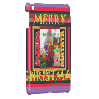The world around Me is happy to Have You colors Me iPad Mini Case