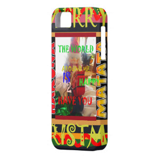 The world around Me is happy to Have You colors Me iPhone SE/5/5s Case