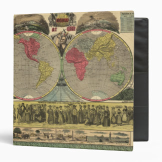 The World At One View 3 Ring Binder