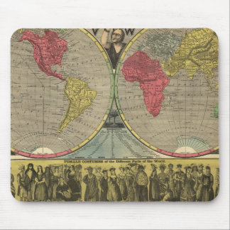 The World At One View Mouse Pad