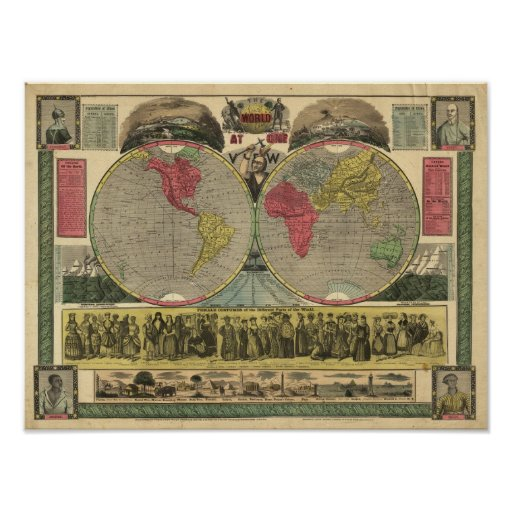 The World At One View Poster